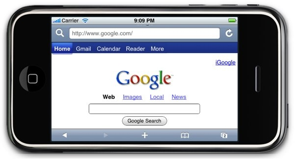 GOOGLE SEARCH MOBILE